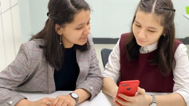 Photo of FROM THE FIELD: The teenage Uzbek girls using science to help their community