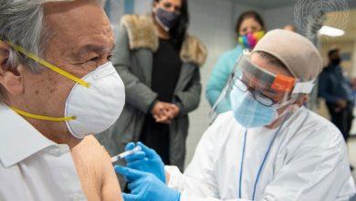Photo of Генсек ООН сделал прививку от COVID-19