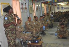 Photo of Military Gender Advocate of the Year highlights 'crucial gender dimensions' in Darfur